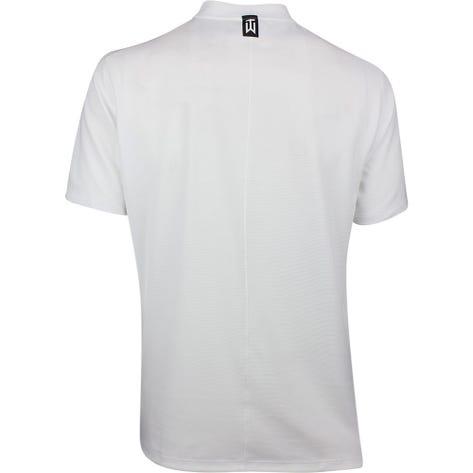Nike Golf Shirt - TW Aeroreact Blade - White SS19