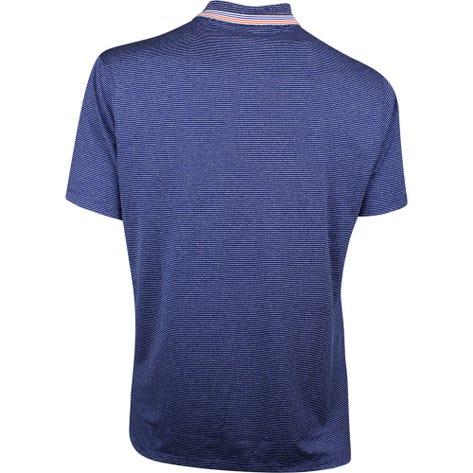 Nike Golf Shirt - Vapor Control Stripe - Blue Void SS19