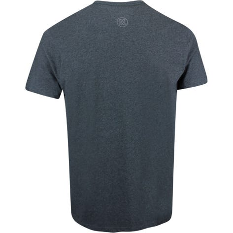 G/FORE Golf T-Shirt - Can't Break Par Tee - Heather Grey AW19