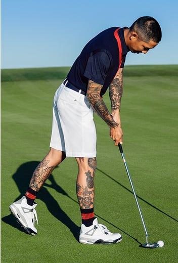 J.Lindeberg - Shorts & Stripe Socks - HS21 Campaign