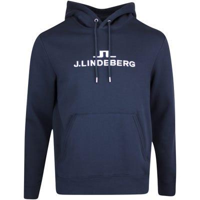 J.Lindeberg Athleisure Pullover - Alpha Hoodie - JL Navy AW21