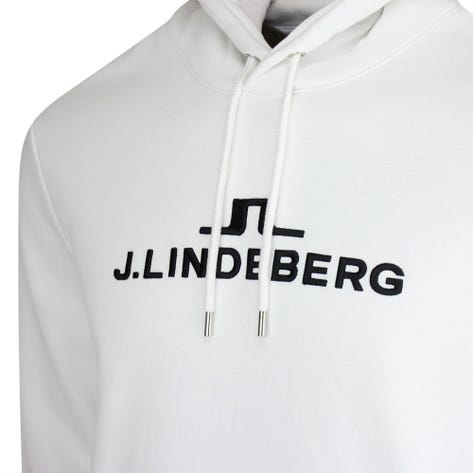 J.Lindeberg Athleisure Pullover - Alpha Hoodie - White AW21