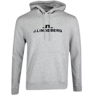 J.Lindeberg Athleisure Pullover - Alpha Hoodie - Stone Grey AW21