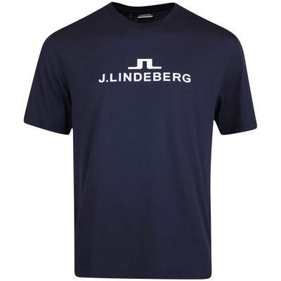 J.Lindeberg Athleisure T-Shirt - Alpha Tee - JL Navy AW21