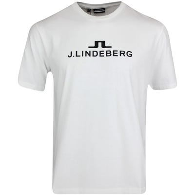 J.Lindeberg Athleisure T-Shirt - Alpha Tee - White AW21