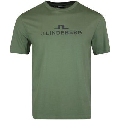 J.Lindeberg Athleisure T-Shirt - Alpha Tee - Thyme Green AW21