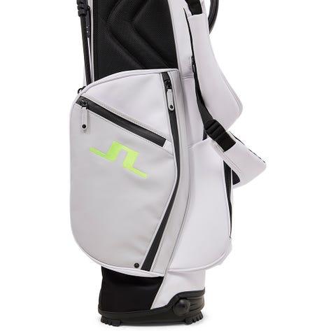 J.Lindeberg Golf Bag - Vessel Play ST - White - Acid Dreams AW21