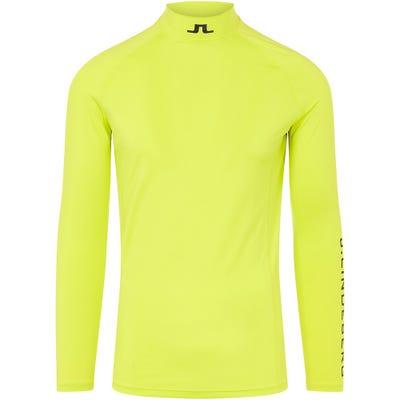 J.Lindeberg Golf Base Layer - Aello Soft Compression - Leaf Yellow SS21