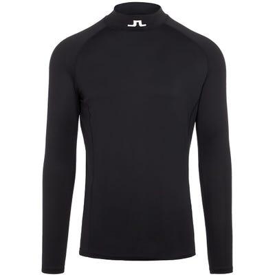 J.Lindeberg Golf Base Layer - Aello Soft Compression - Black AW21