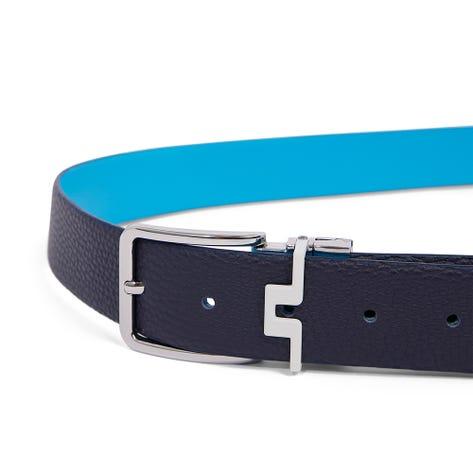 J.Lindeberg Golf Belt - Bridge Reversible - Fancy Blue AW21