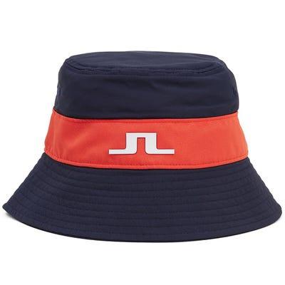 J.Lindeberg Golf Hat - Hank Bucket - JL Navy HS21
