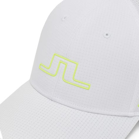 J.Lindeberg Golf Cap - Caden - White - Acid Dreams AW21