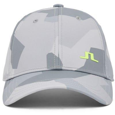 J.Lindeberg Golf Cap - Camo Print - Grey AW21