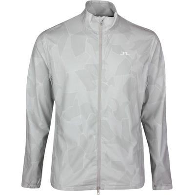 J.Lindeberg Golf Jacket - Lucien Camo - Stone Grey SS21