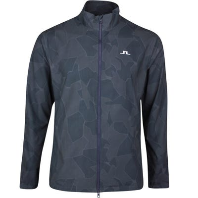 J.Lindeberg Golf Jacket - Lucien Camo - JL Navy SS21