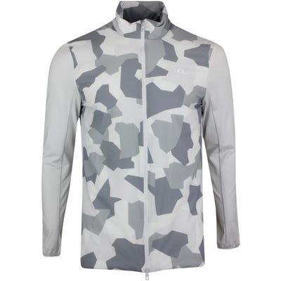 J.Lindeberg Golf Jacket - Packlight Print - Grey Camo AW21