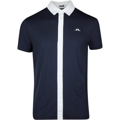 J.Lindeberg Golf Shirt - Ade Regular Fit - JL Navy SS21