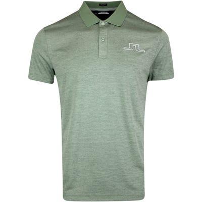 J.Lindeberg Golf Shirt - Bridge Regular Fit - Iceberg Green AW21