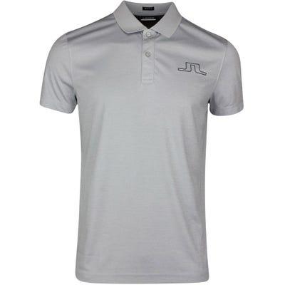 J.Lindeberg Golf Shirt - Bridge Regular Fit - Stone Grey SS21