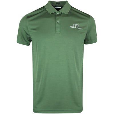 J.Lindeberg Golf Shirt - Bridge Regular Fit - Thyme SS21