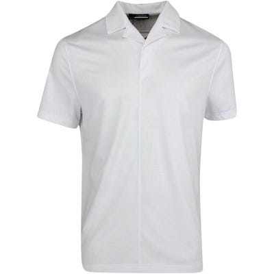 J.Lindeberg Golf Shirt - Conny Relaxed Fit  - White HS21
