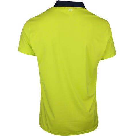 J.Lindeberg Golf Shirt - Flinn Regular Fit - Leaf Yellow SS21