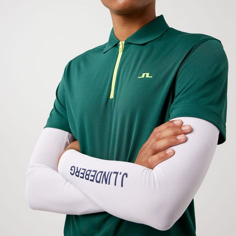 J.Lindeberg Golf Shirt - Fredric Regular Fit - Treeline Green AW21