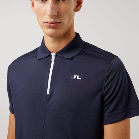 J.Lindeberg Golf Shirt - Fredric Regular Fit - JL Navy AW21