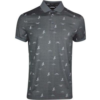 J.Lindeberg Golf Shirt - Glen Regular Fit - Dark Grey SS21