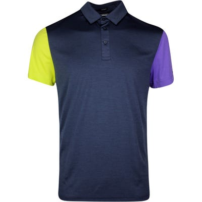 J.Lindeberg Golf Shirt - Harry Regular Fit - JL Navy SS21
