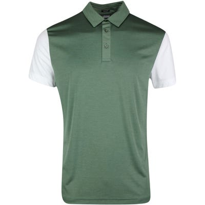J.Lindeberg Golf Shirt - Harry Regular Fit - Thyme SS21