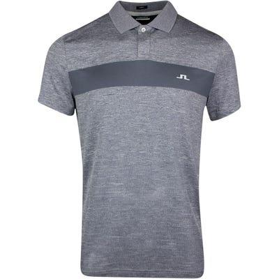 J.Lindeberg Golf Shirt - Jay Slim Fit - Stone Grey SS21