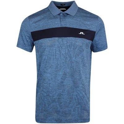 J.Lindeberg Golf Shirt - Jimmy Slim Fit - JL Navy HS21