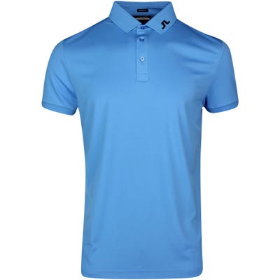 J.Lindeberg Golf Shirt - KV Regular Fit - Ocean Blue SS21