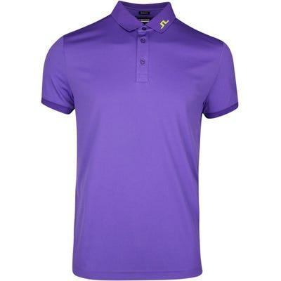 J.Lindeberg Golf Shirt - KV Regular Fit - Ultra Violet SS21