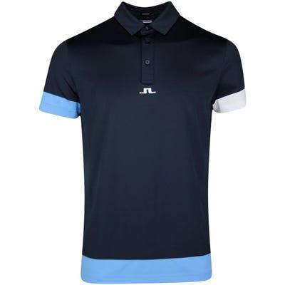 J.Lindeberg Golf Shirt - Per Regular Fit - JL Navy SS21