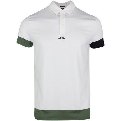 J.Lindeberg Golf Shirt - Per Regular Fit - Thyme SS21