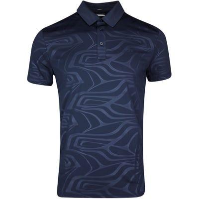 J.Lindeberg Golf Shirt - Tony Slim Fit - JL Navy SS21