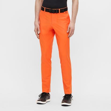 J.Lindeberg Golf Trousers - Ellott Pant - Lava Orange SS21