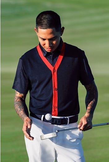 J.Lindeberg - Button Up Sweater Vest - HS21 Campaign