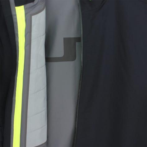 J.Lindeberg Golf Jacket - Avery Waterproof - Black AW21