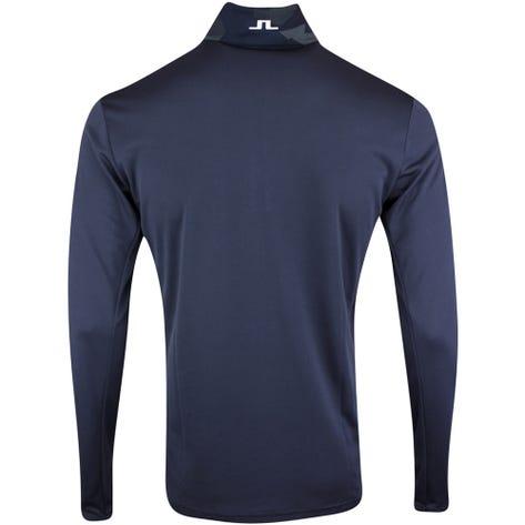 J.Lindeberg Golf Pullover - Brandon Mid Layer - JL Navy Camo AW21