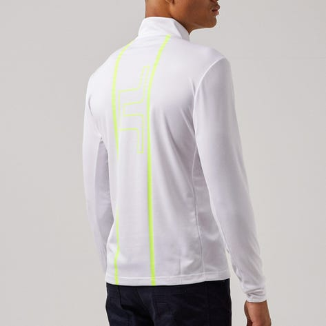 J.Lindeberg Golf Pullover - Johan Mid Layer - White AW21