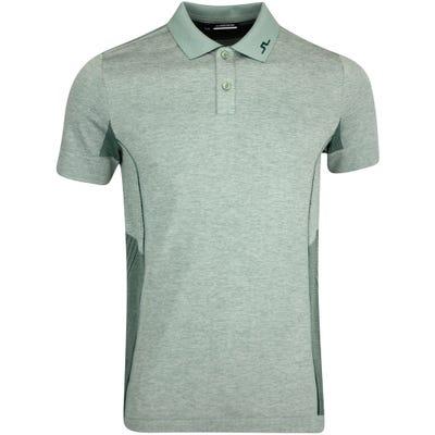 J.Lindeberg Golf Shirt - Al Regular Fit - Iceberg Melange AW21