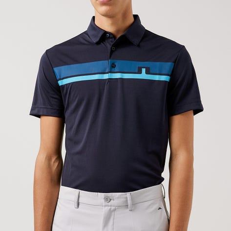 J.Lindeberg Golf Shirt - Clark Regular Fit - JL Navy AW21