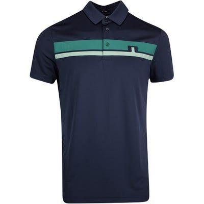 J.Lindeberg Golf Shirt - Clark Regular Fit - Treeline Green AW21