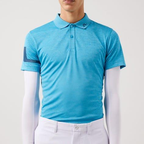 J.Lindeberg Golf Shirt - Heath Regular Fit - Fancy Melange AW21