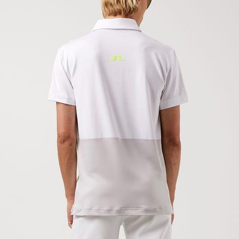 J.Lindeberg Golf Shirt - Kieth Regular Fit - White AW21