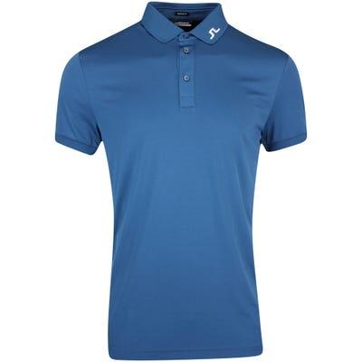 J.Lindeberg Golf Shirt - KV Regular Fit - Majolica Blue AW21