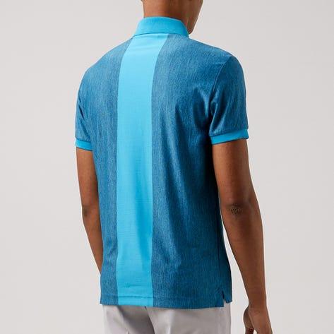 J.Lindeberg Golf Shirt - Towa Slim Fit - Navy Melange AW21